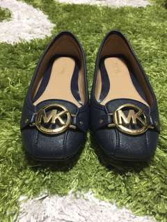 MICHAEL Michael Kors Fulton Saffiano Leather Moccasin, Navy