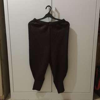 celana kekinian warna coklat