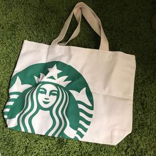 Starbucks Limited edition Malaysia 15th anniversary tote bag for sales