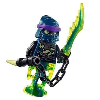 Lego Ninjago Wrayth figure