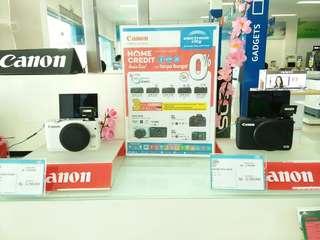 Cicilan Camera CANON dg bunga rendah