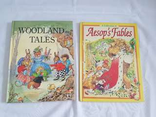 Tale and fable books for kids!