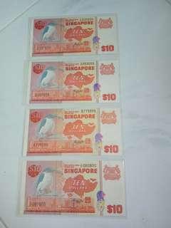 $10  ( 鳥 )  Brid