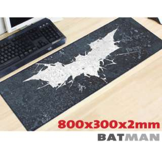 BATMAN 8030 Extra Large Mousepad Anti-Slip Gaming Office Desktop Coffee Dining Tabletop Decorative Mat