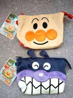 麵包超人及細菌小子細袋(可加長帶)-每個$20