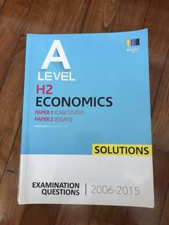 A level Econs answers+Free book