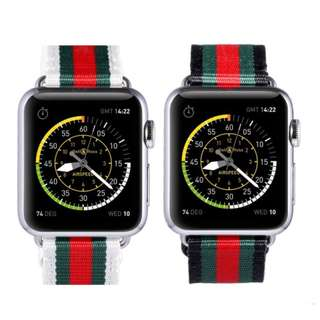 Stylish Sporty Watch Bands Strap for Apple I watch 42mm 38mm