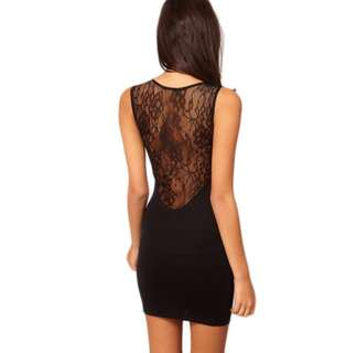 Sexy dress with lace