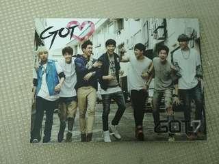 GOT 7 Album 2nd Mini Album Got Love