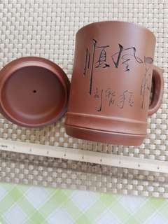 BN China Pottery Tea Cup w lid For Sale