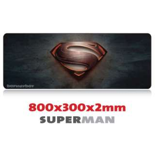 SUPERMAN 8030 Extra Large Mousepad Anti-Slip Gaming Office Desktop Coffee Dining Tabletop Decorative Mat
