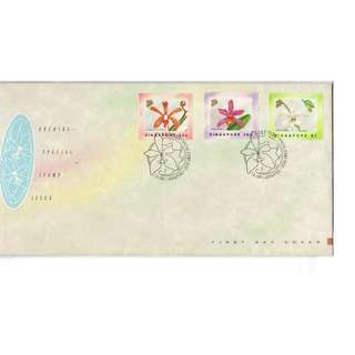fdc  #135  Special Stamp Issue  --  ORCHIDS
