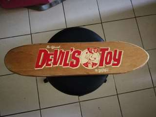 Lurkville Devil's Toy Vintage Skateboard