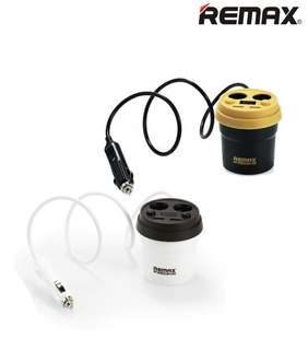 Remax 2 USB Coffee Cup Car Charger CR-2XP