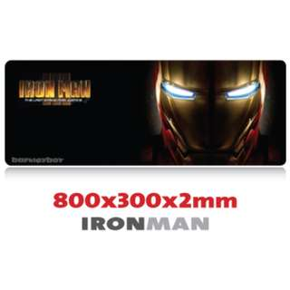 IRONMAN 8030 Extra Large Mousepad Anti-Slip Gaming Office Desktop Coffee Dining Tabletop Decorative Mat