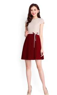 BNWT Lilypirates Perfect Match Dress in Wine Red