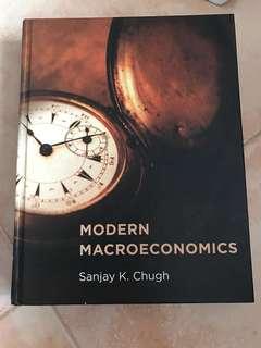 MODERN MACROECONOMICS SANJAY