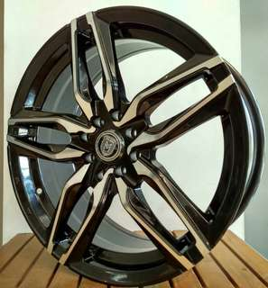 velg milano ring 17 for avanza jazz mobilio yaris swift livina agya datsun dll