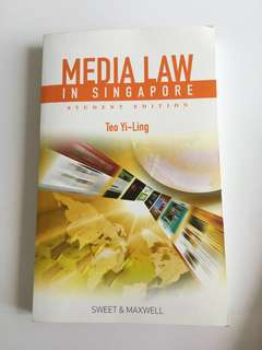 Media Law in Singapore