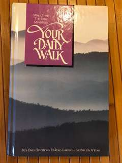 Devotion Book - Walk thru The Bible Ministries: Your Daily Walk