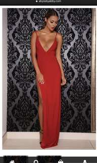 Red Dress Abyss Ambrosia