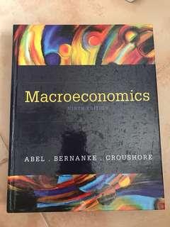 MACROECONOMICS ABEL BERNANKE CROUSHORE