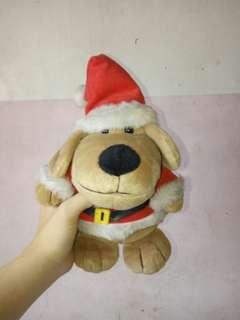 Santa stuffed toy