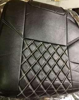 Seat Cover Perodua Viva 660 Black ( White Line )