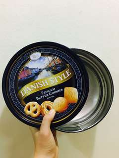 Cookies Tin Can