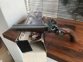 Vintage antique hand gun replica