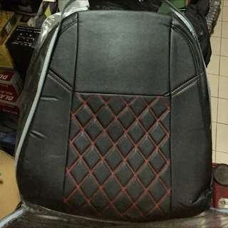 Seat Cover Perodua Alza Black ( Red Line )