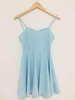 BN BABY BLUE DRESS