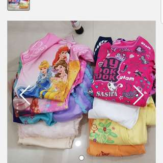 Bundle girl clothes(5-6 years)