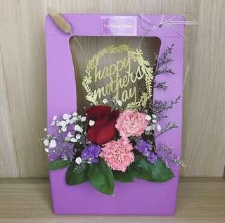 Mother's Day Flower   Flower Box    Flower Bouquet