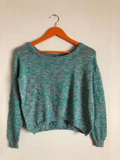 H&M SPECKLED SWEATER