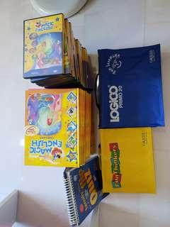 Grolier Disney Children Education set