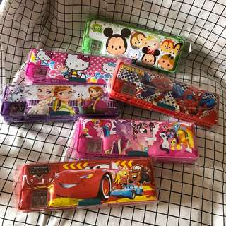 [CLEARANCE SALE] MAGNETIC PENCIL BOX FOR CHILDREN / KIDS