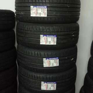 Brand New Stock Michelin Pilot Sport 4 205/55/16 Tires