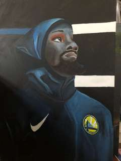 NBA球星 KD畫像