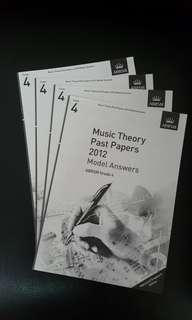 Music theory answer grade 4 and 5