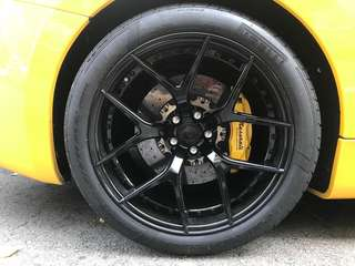 BC Forged Wheels 2-Piece Model for Maserati
