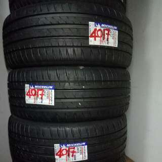 Brand New Stock Michelin Pilot Sport 4 215/55/17 Tires