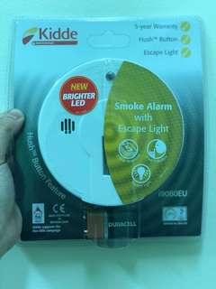 Kidde i9080 Smoke / Fire Alarm Detector with Emergency Escape Light