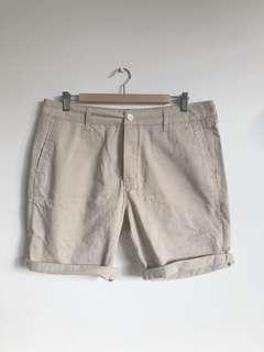 Top Man Khaki Shorts