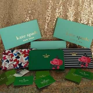 KATE SPADE wallet lots of 3 Designer Wallet Wholesale Payday SALE Bundles