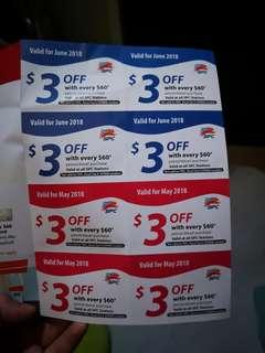 SPC petrol coupon
