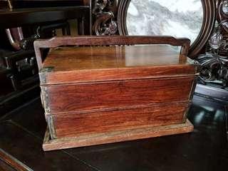 海南黃花梨 提盒