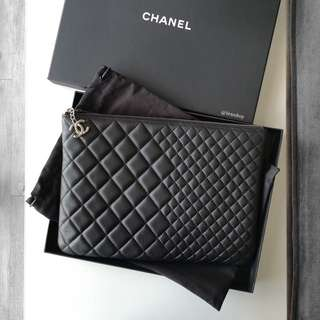 Authentic Chanel Black Casual Style Ocase