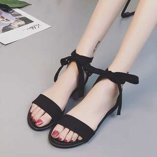 Plain / basic Roma single Strap sandals