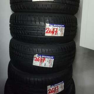 Brand New Stock Michelin Pilot Sport 3 195/55/15 Tires